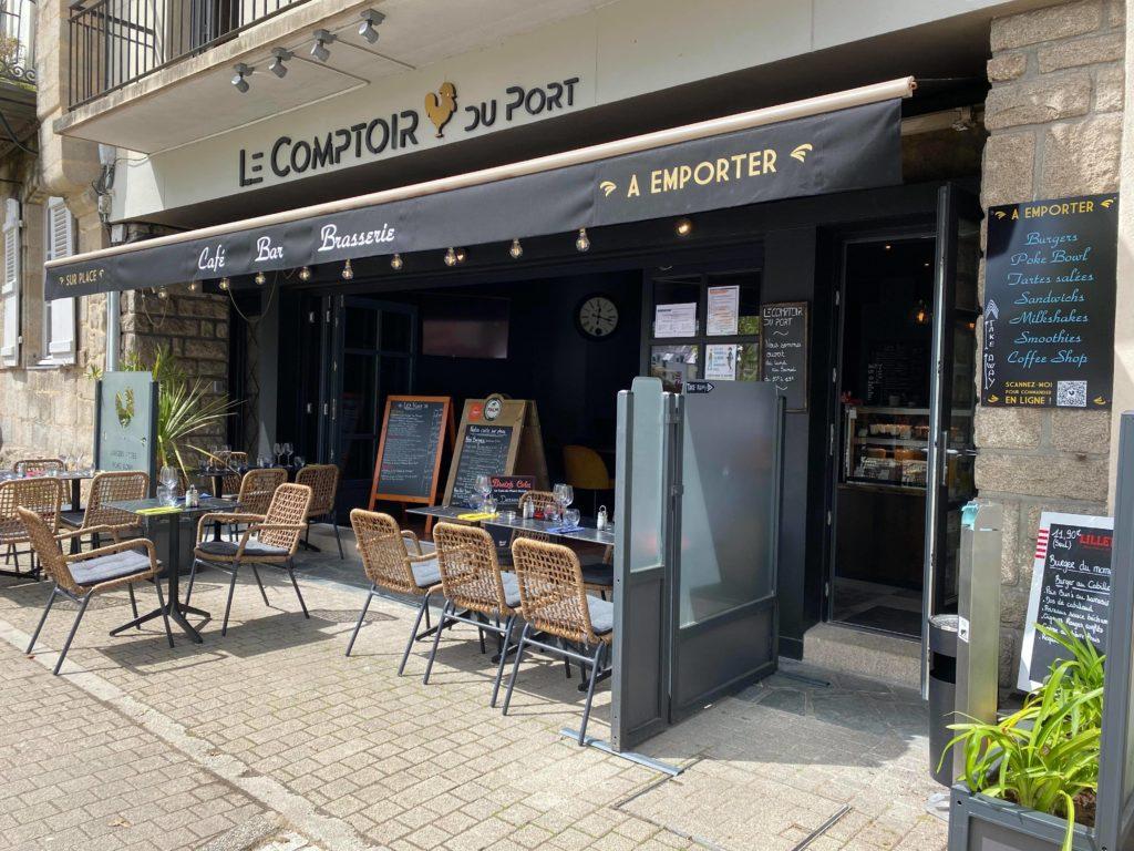 le comptoir du port Vannes_Coffee shop bar brasserie